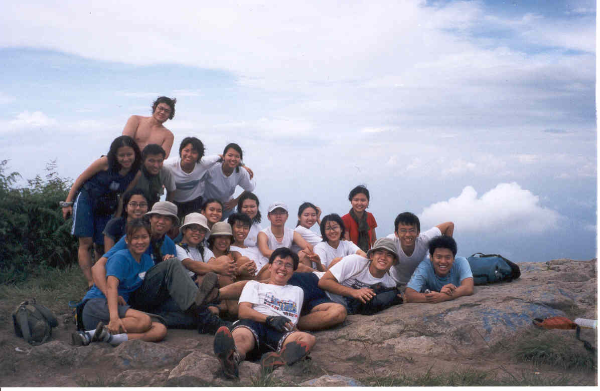 A group pic at the top!