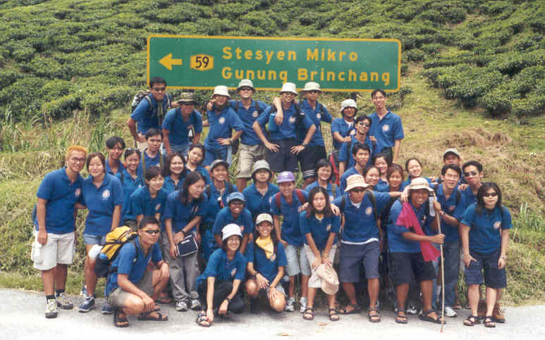 Gunong Brinchang here we come!